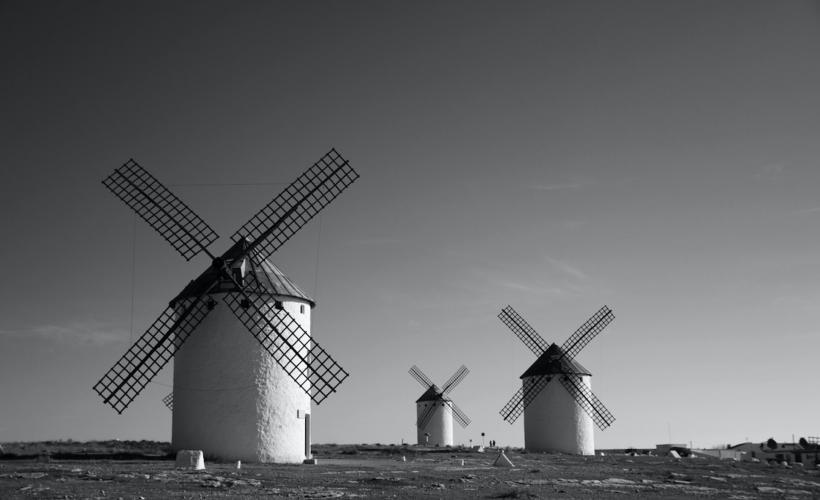 Windmills. Photo by Katia De Juan on Unsplash
