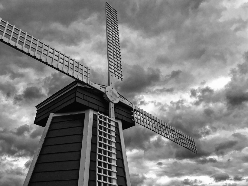 Photo of a windmill
