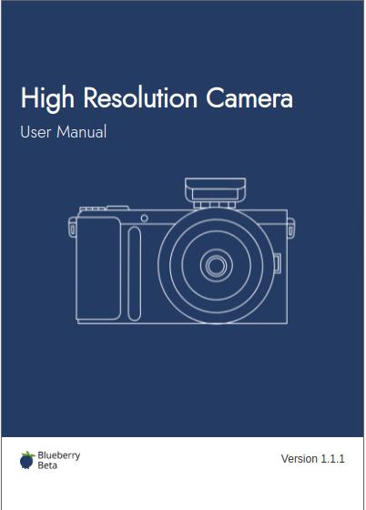 screenshot of the manual layout